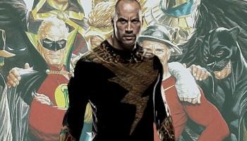 Por qué Black Adam luchará contra Justice Society of America