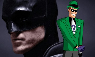 Fan póster de 'The Batman' con Riddler