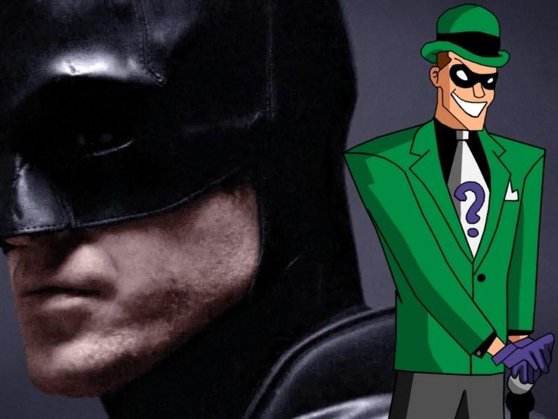 Fan póster de 'The Batman' con Riddler