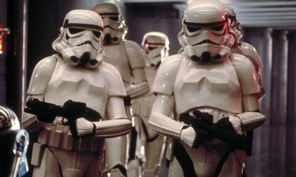 puntería de los Stormtroopers