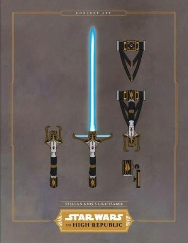 Nueva saga de Star Wars tendrá referencias a una leyenda medieval star-wars-high-republic-lightsabers-concept-art-1238122-387x500