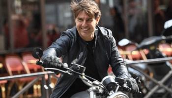 Escena de acción de 'Mission Impossible 7' con Tom Cruise