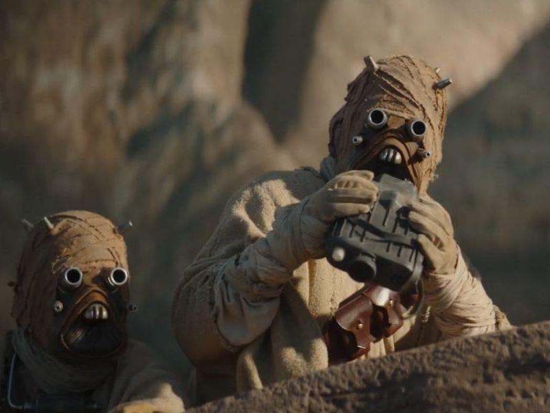 Así se ven los Tusken Raiders bajo la máscara