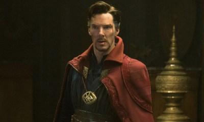 Fan póster de Doctor Strange en Spider-Man 3