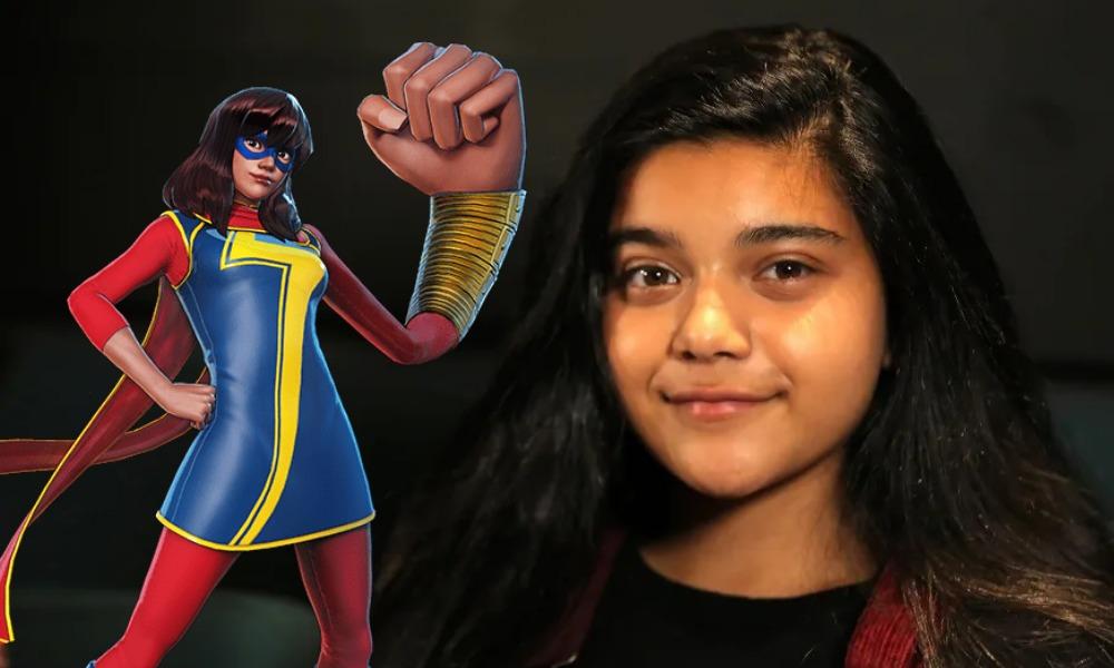 fan art de Iman Vellani como Ms Marvel