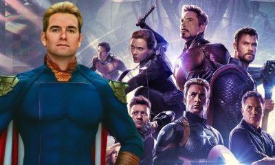 fan made Homelander contra Avengers