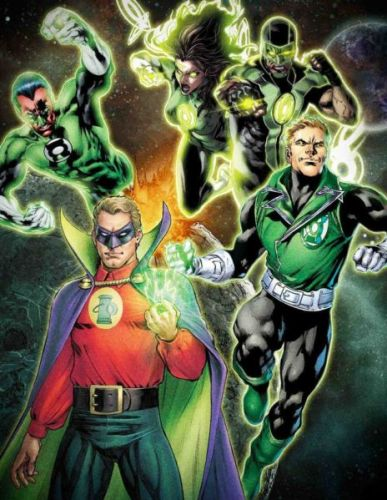 ¿Con Ryan Reynolds? Anuncian a los personajes en la serie de 'Green Lantern' green-lantern-tv-series-hbo-max-387x500