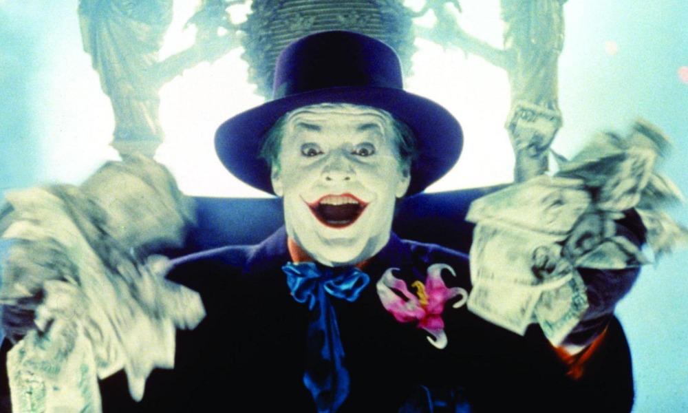 Jack Nicholson siguió ganando por su papel de Joker