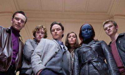 X-Men enfrentándose a Fantastic Four