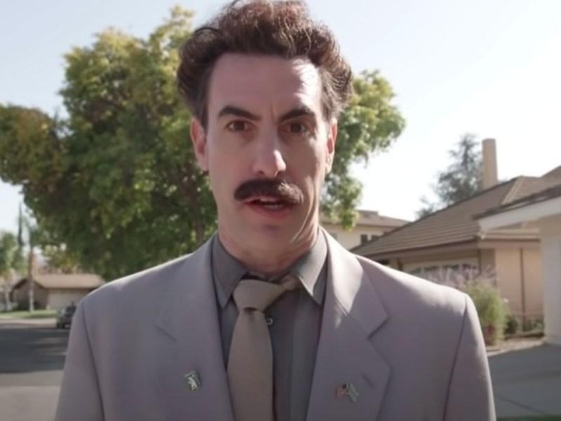 Sacha Baron Cohen vivió como Borat