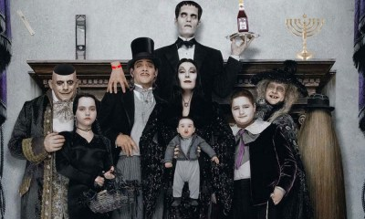 Tim Burton hará una serie de The Addams Family