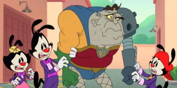 ¿Apoyando a Zack Snyder? 'Animaniacs' se burló de 'Justice League' animaniacs-reboot-mocks-justice-league-snyder-cut-600x300