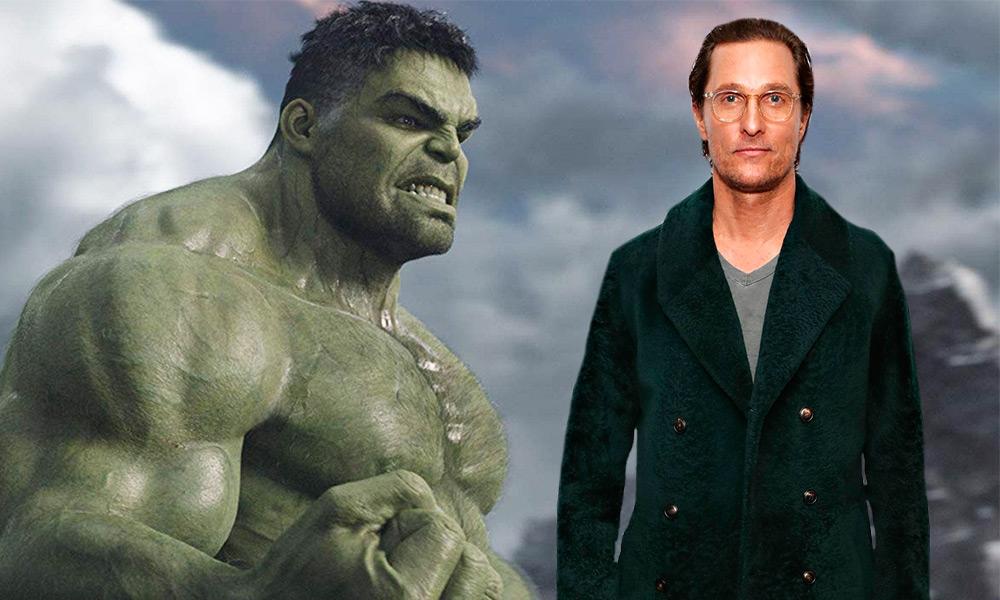 así luciría Matthew McConaughey como Hulk
