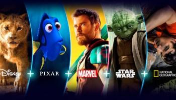 Disney+ está disponible en Latinoamérica