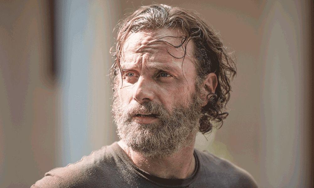fotografía del regreso de Rick Grimes