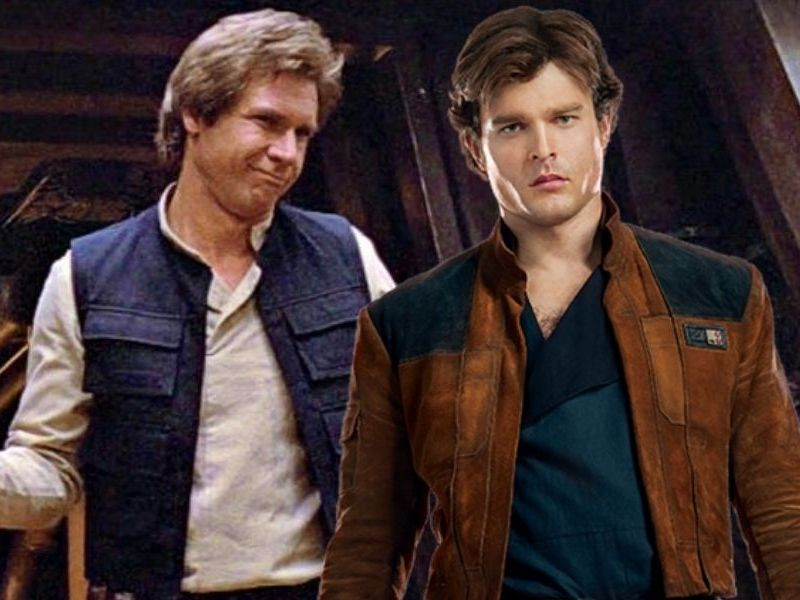Harrison Ford opinó de Alden Ehrenreich