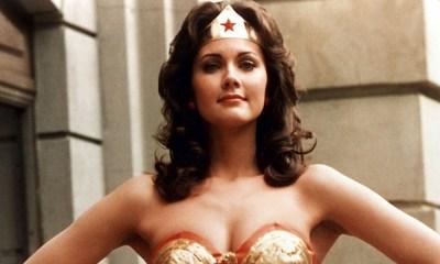 Lynda Carter giró como Wonder Woman
