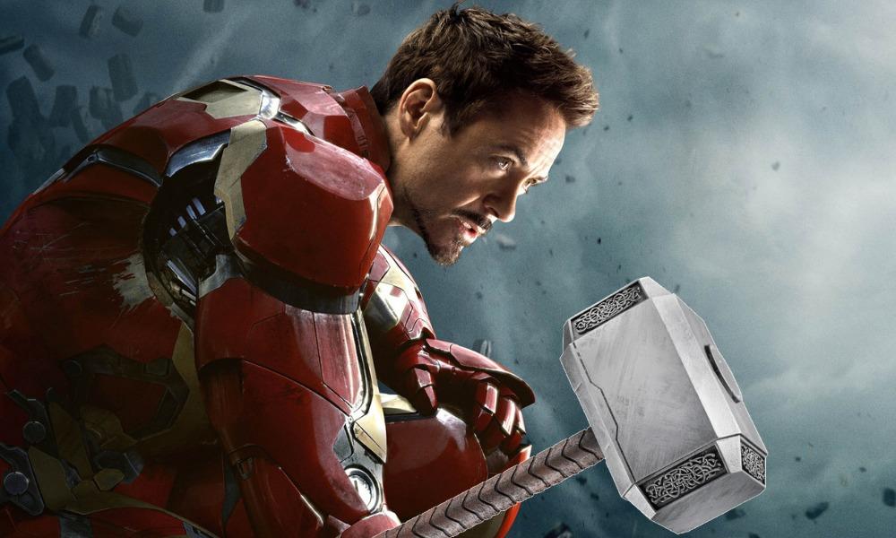 Iron Man también era digno de usar el martillo de Thor