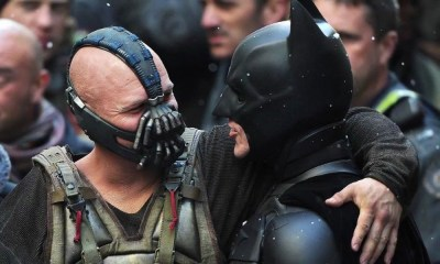 The Dark Knight Rises hizo referencia a un viejo traje de Batman