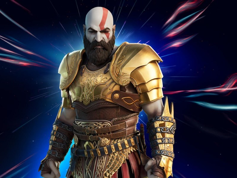 trailer de Kratos en 'Fortnite'