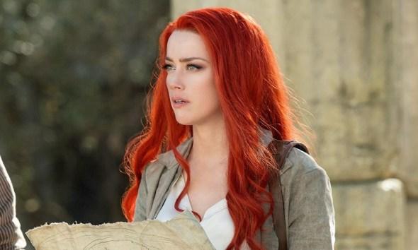 Amber Heard tendrá aumento salarial en Aquaman 2