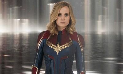 Brie Larson se prepara para Captain Marvel 2
