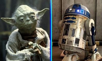 confirmaron conexión entre Yoda y R2-D2
