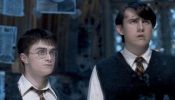 Matthew Lewis no puede ver las películas de Harry Potter