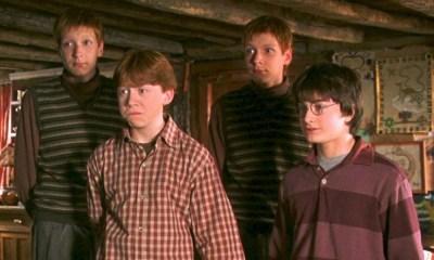 actores no sabían a cuál gemelo Weasley interpretaban