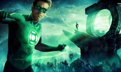 inicio de grabaciones de Green Lantern Corps