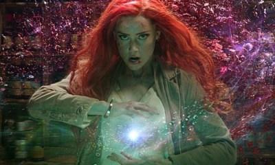 Amber Heard ya se prepara para Aquaman 2