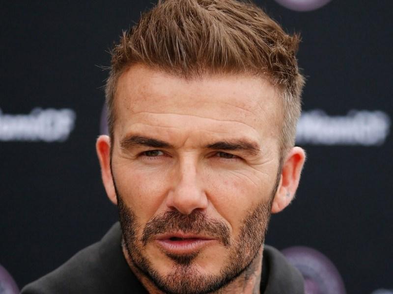 David Beckham anunció su casa productora