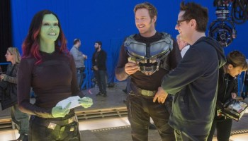 guion del especial de navidad de Guardians of the Galaxy
