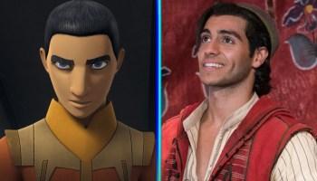 Mena Massoud como Ezra Bridger