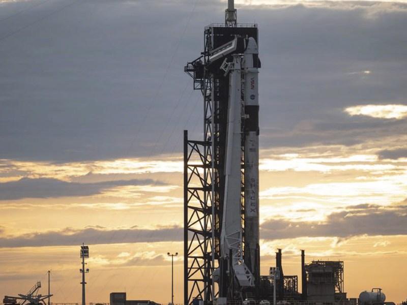 Lanzamiento de SpaceX Crew-2