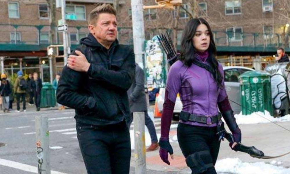 traje de Hawkeye para la serie