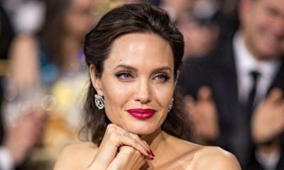 Angelina Jolie se cubrió de abejas