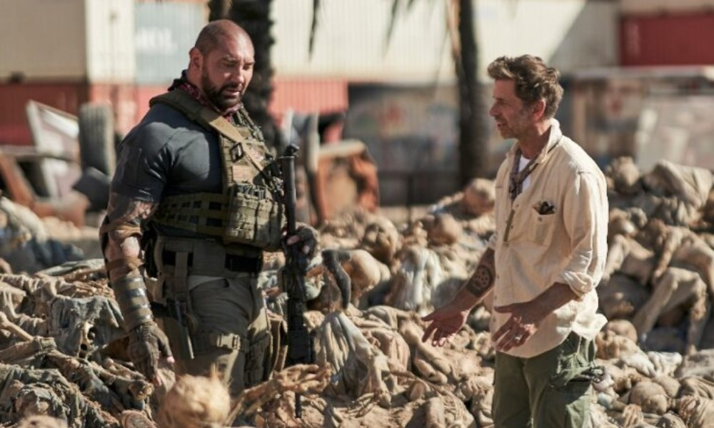 cameo de Zack Snyder en Army of the Dead