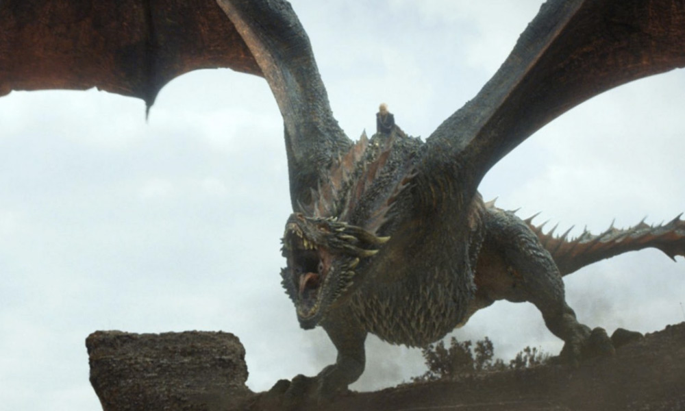 Dragon en Game of Thrones