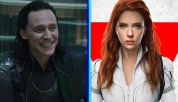 nuevos adelantos de 'Loki' y 'Black Widow'