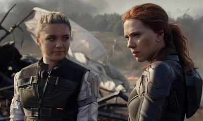 Escena de persecución de Black Widow