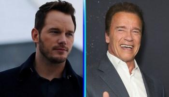 Chris Pratt no imita a Arnold Schwarzenegger