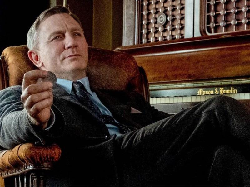 Daniel Craig en el set de 'Knives Out 2'