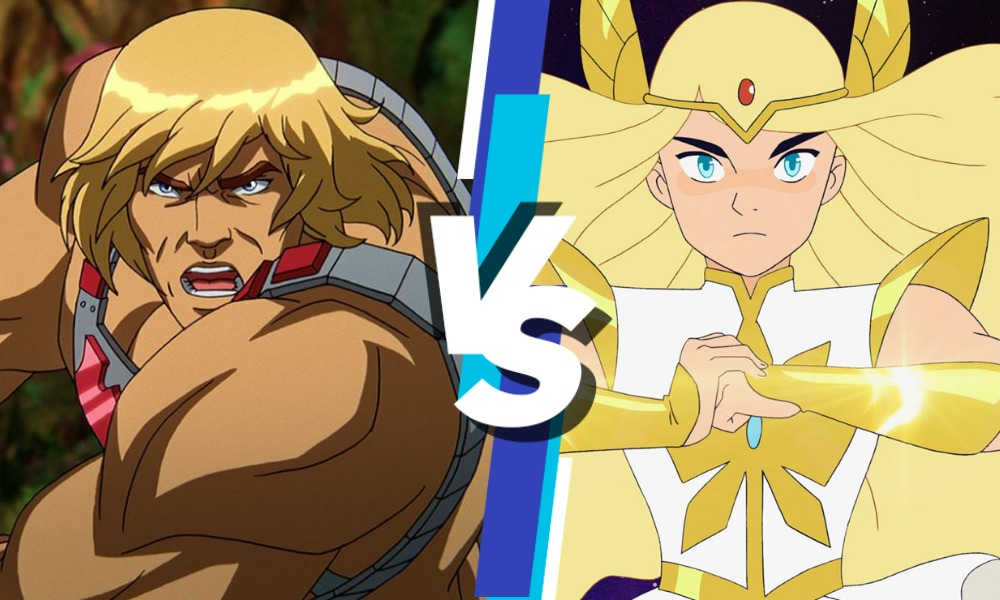 diferencia entre 'Masters of the Universe' y 'She-Ra'