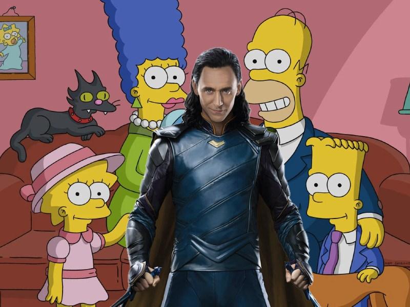 Cortometraje de Los Simpsons y Marvel