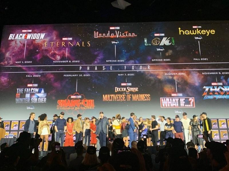 Marvel está trabajando en diez proyectos