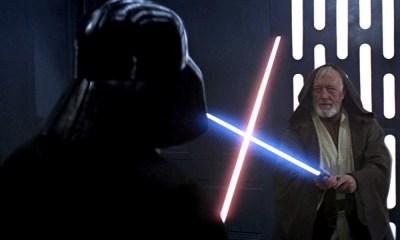 Qué hizo Darth Vader con el lightsaber de Obi-Wan