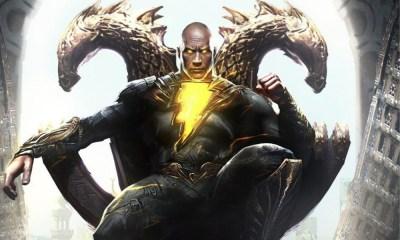 preparación de Dwayne Johnson para Black Adam