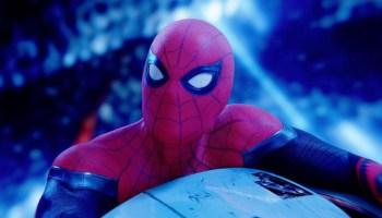 título de Spider-Man 3 parpadea