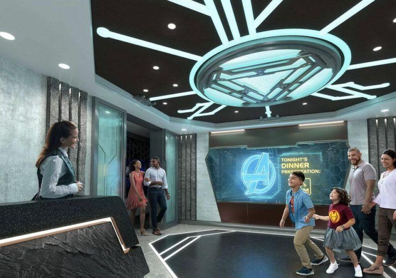 Marvel en crucero